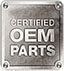 Certified OEM Parts