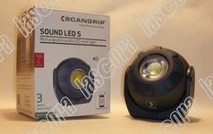 Scangrip Sound Led S