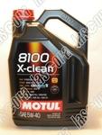 Olej Motul 8100 X-clean C3 5w40 4L